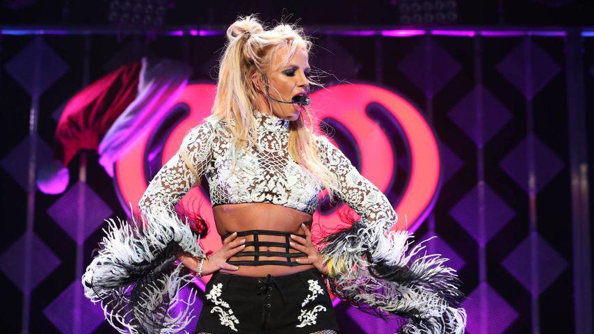 Von wegen nur Playback! Britney Spears kann doch live singen