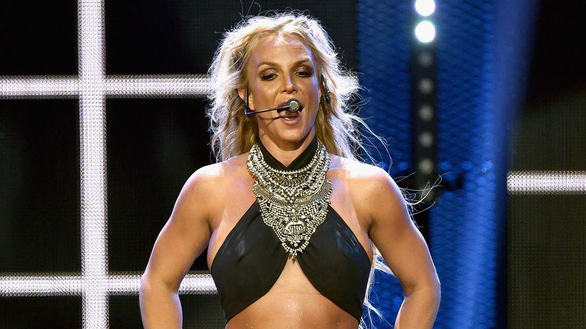 Britney Spears beim iHeartRadio Music Festival, 2016
