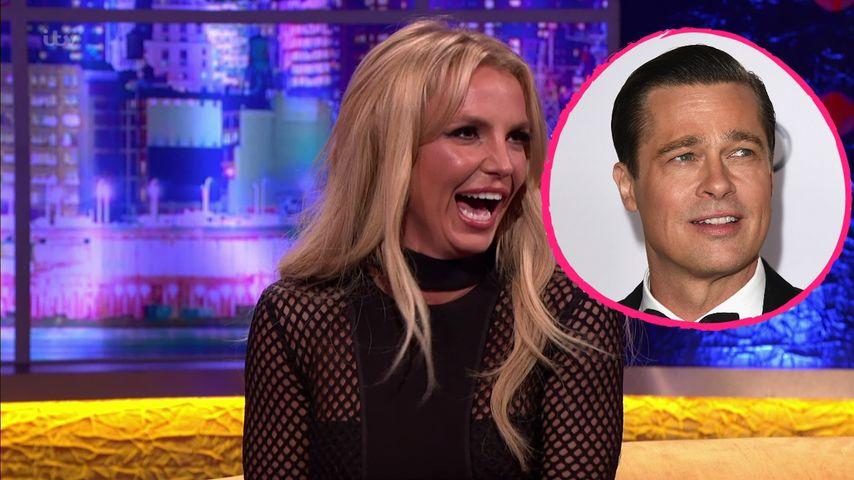 Jugendschwarm: Angelt sich Britney Spears jetzt Brad Pitt?