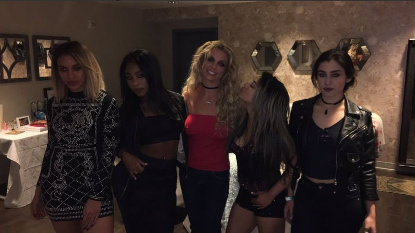 Girl-Power! Fifth Harmony besuchen Britney Spears' Konzert