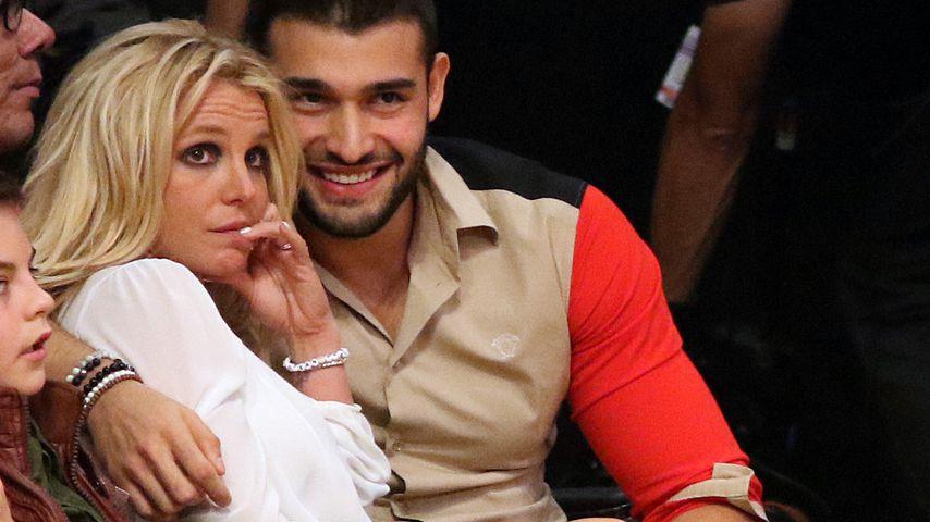 Britney Spears' Freund Sam Asghari ist sehr beschützerisch!