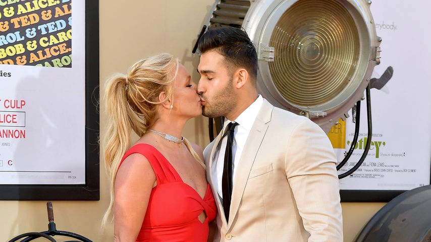 "Britney Spears und Sam Asghari bei der ""Once Upon a Time in Hollywood""-Premiere in L.A."