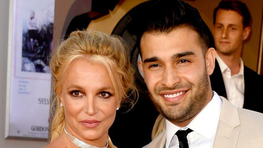 Britney Spears und Sam Asghari, Juli 2019