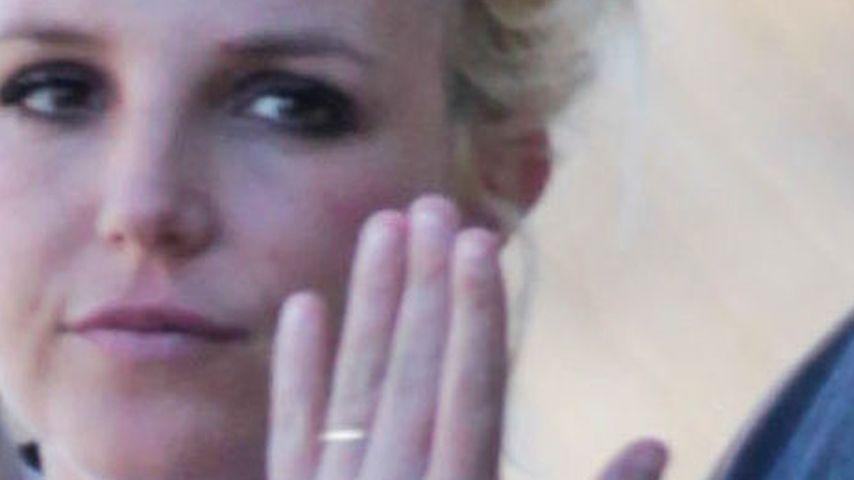 Ring-Schau: Ist Britney Spears schon verheiratet?