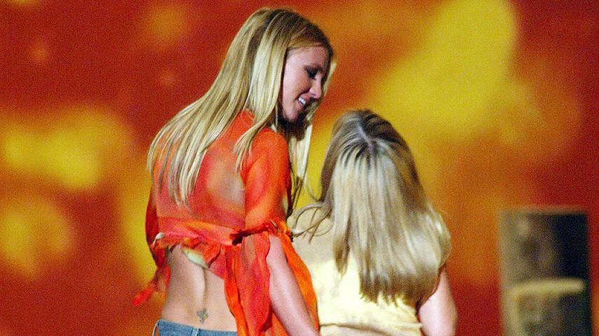 Britney und Jamie Lynn Spears im Jahr 2002