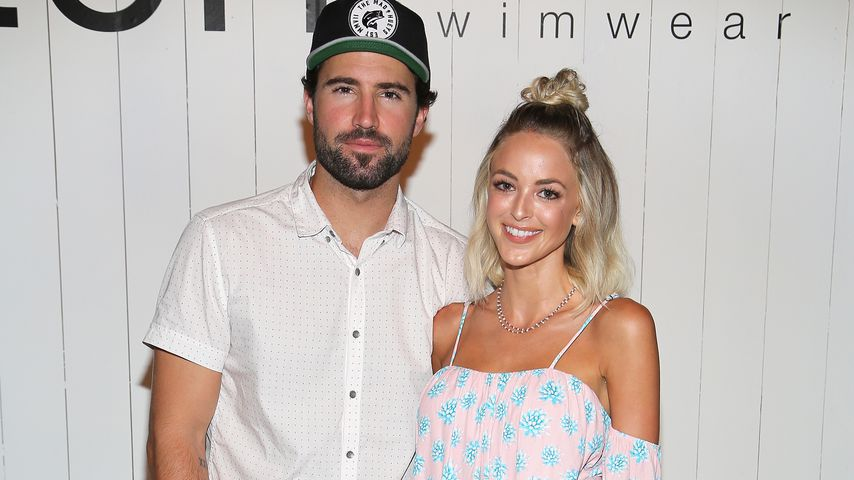 Brody Jenner und Kaitlynn Carter auf der Fashion Week Miami Beach, 2015