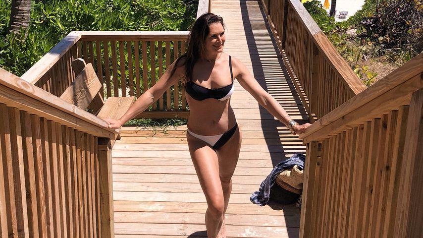 Wirklich 52 Jahre? Brooke Shields zeigt Hammer-Bikini-Body!
