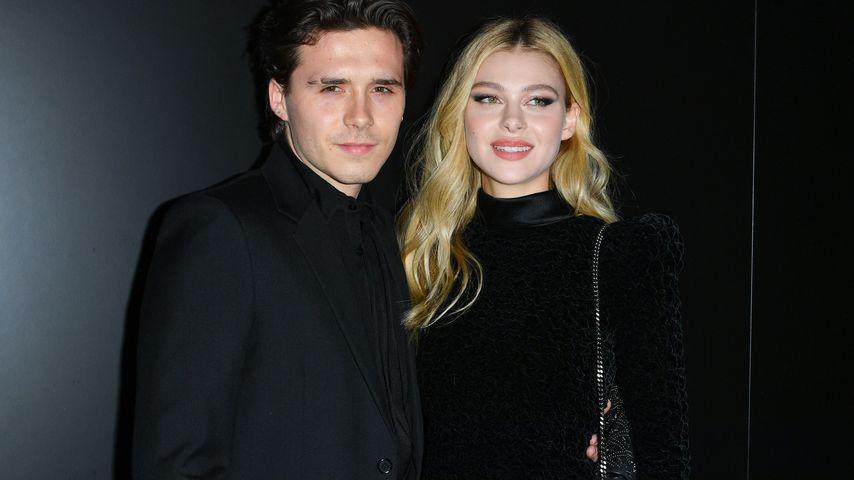 Brooklyn Beckham mit seiner Freundin Nicola Peltz im Februar 2020