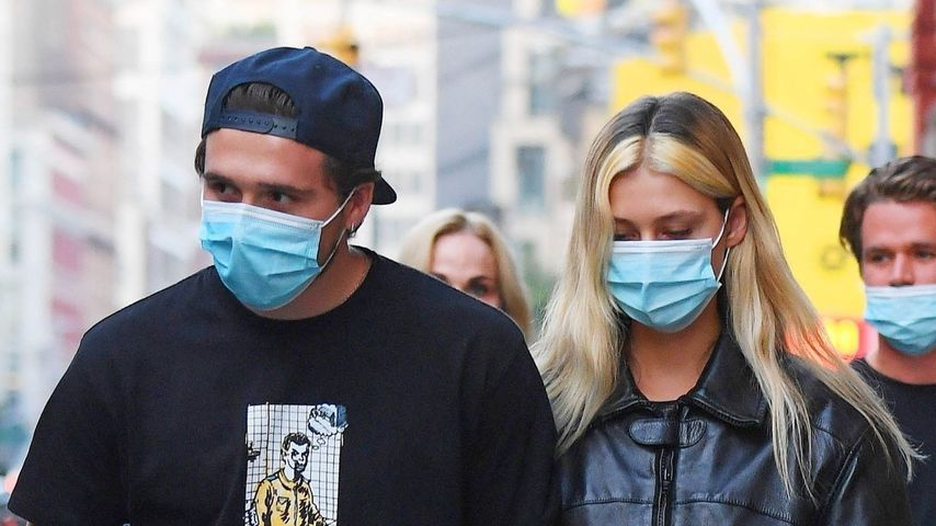 Brooklyn Beckham und Nicola Peltz, September 2020