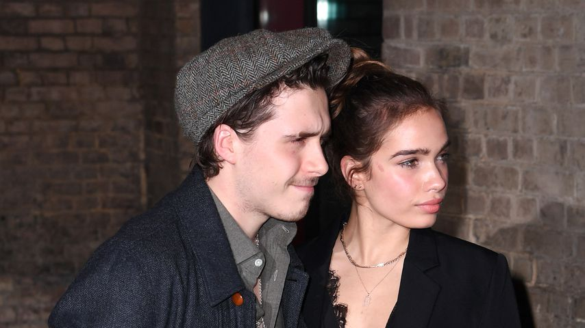 Brooklyn Beckham und Hana Cross in London