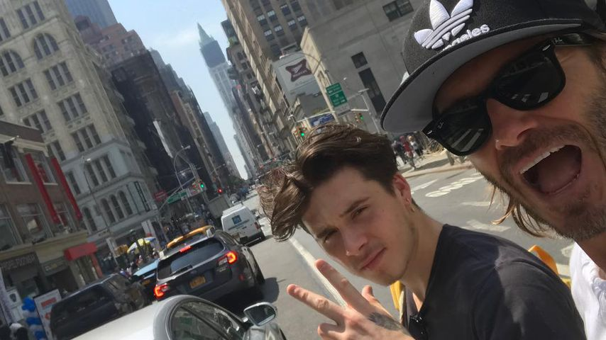 Neue Heimat NY: David Beckham freut sich für Brooklyn
