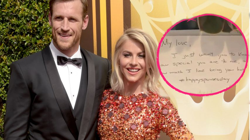 Lucky Girl: So feiern Julianne Hough & Brooks 6 Monate Ehe!
