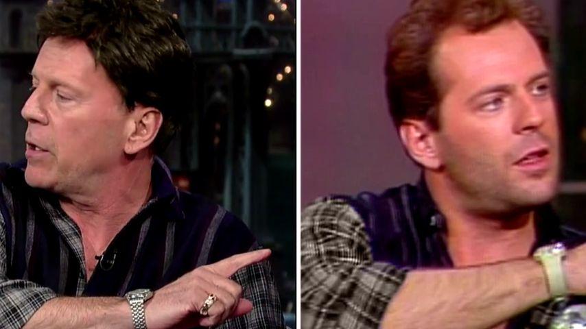Bruce Willis (60) verkleidet sich als sein jüngeres Ich