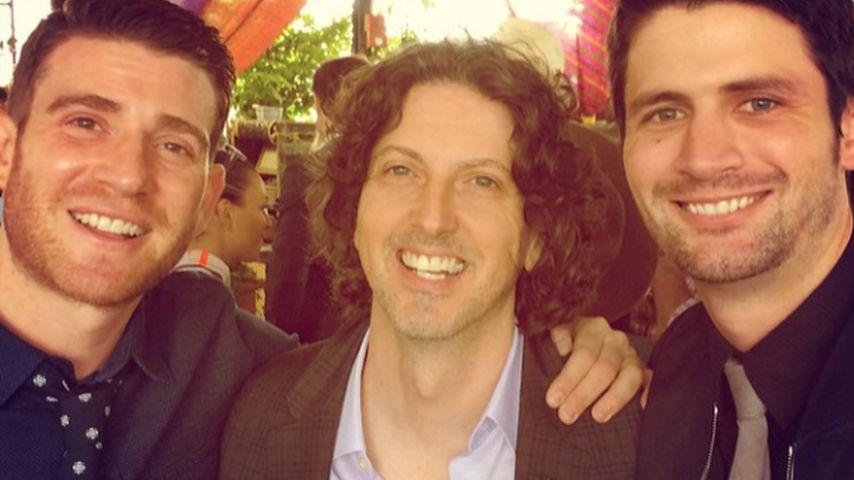 Bryan Greenberg, James Lafferty und Mark Schwahn