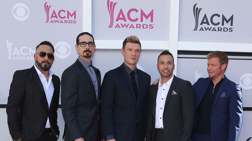 Backstreet Boys bei den Country Music Awards 2017