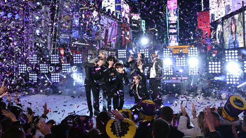 BTS im Dezember 2019 in New York