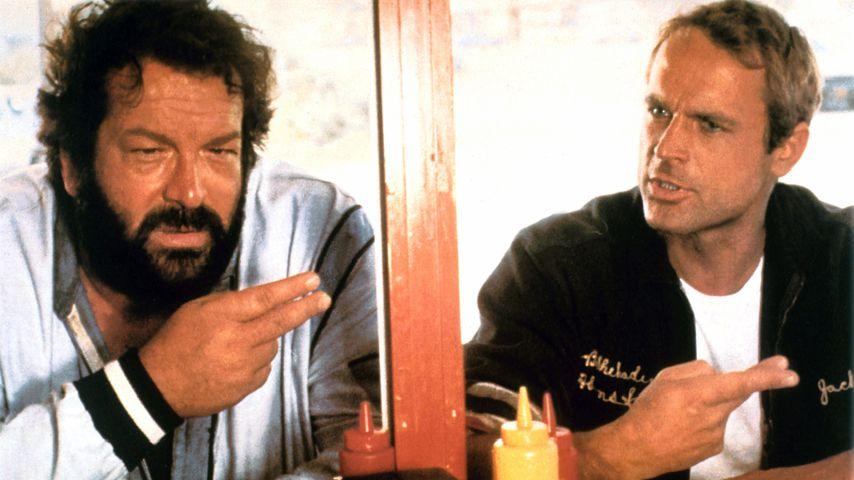 """Bud Spencer und Terence Hill in dem Film """"Zwei außer Rand und Band"""""""