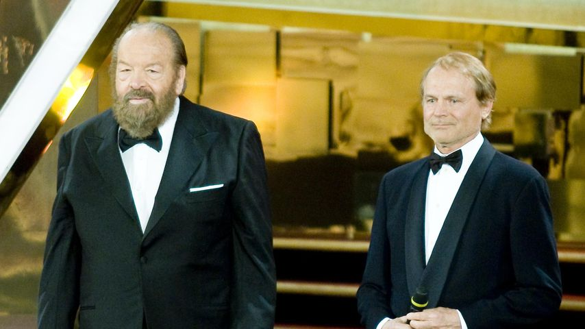 Bud Spencer und Terence Hill bei den David di Donatello Awards