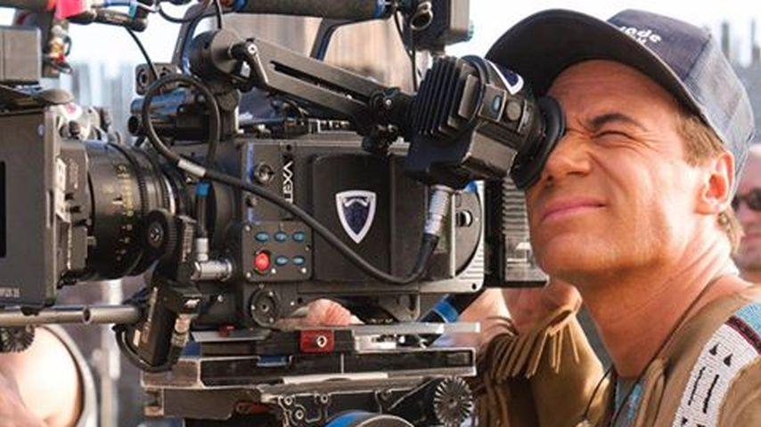 """Michael Bully Herbig bei den Dreharbeiten zu """"Bullyparade – Der Film"""""""