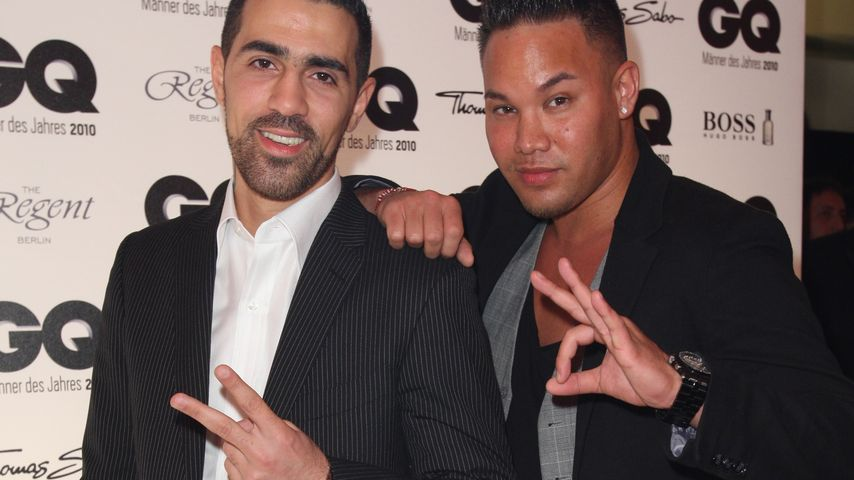 Bushido und Kay One bei den GQ-Awards 2010 in Berlin