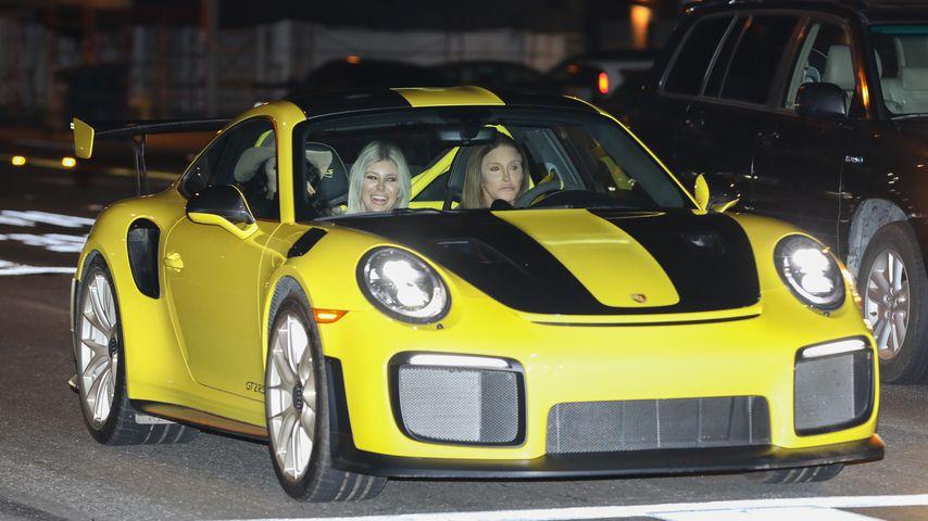 Sophia Hutchins und Caitlyn Jenner im Dezember 2019