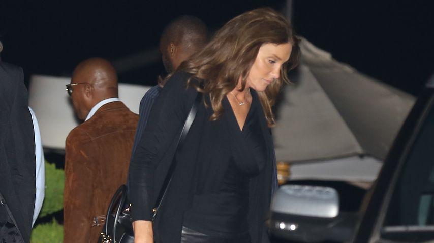 Lässiger Leder-Look: Caitlyn Jenner im coolen Vamp-Style!