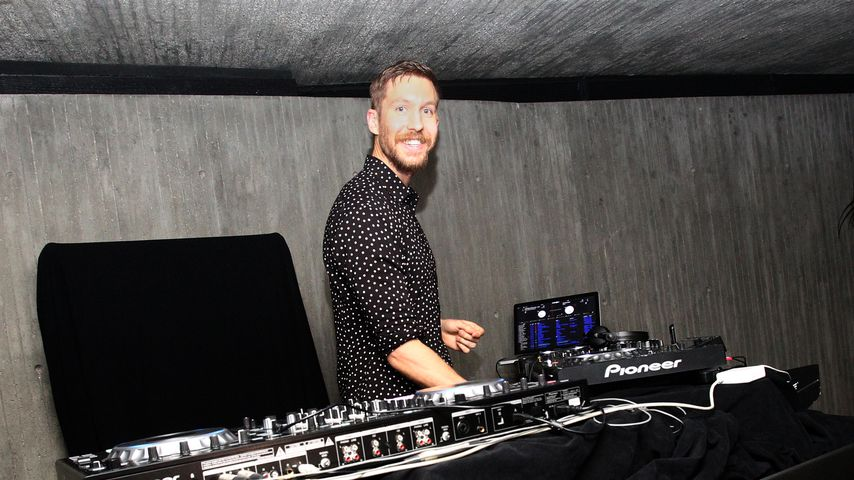 Calvin Harris am DJ-Pult