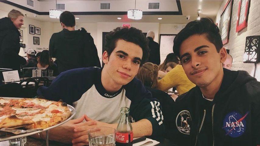 Cameron Boyce und Karan Brar, Januar 2019