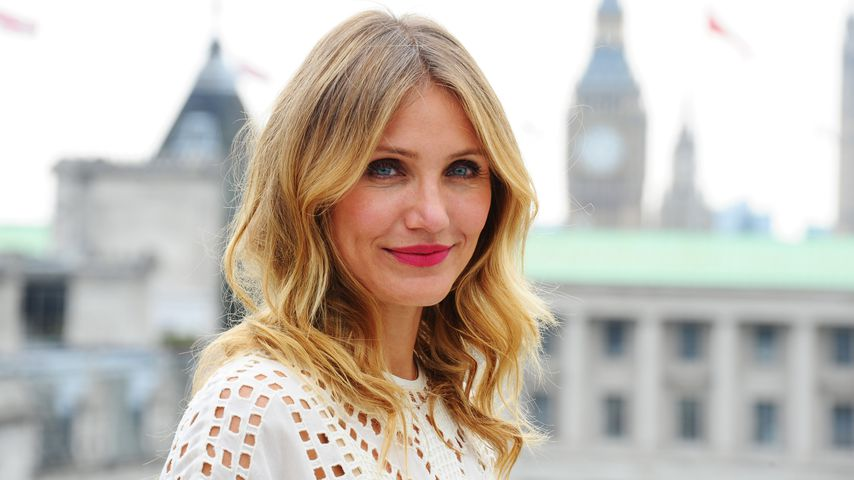 Cameron Diaz in London