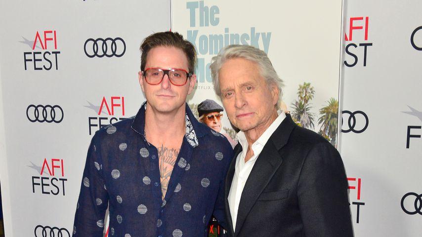 Cameron und Michael Douglas, Schauspieler