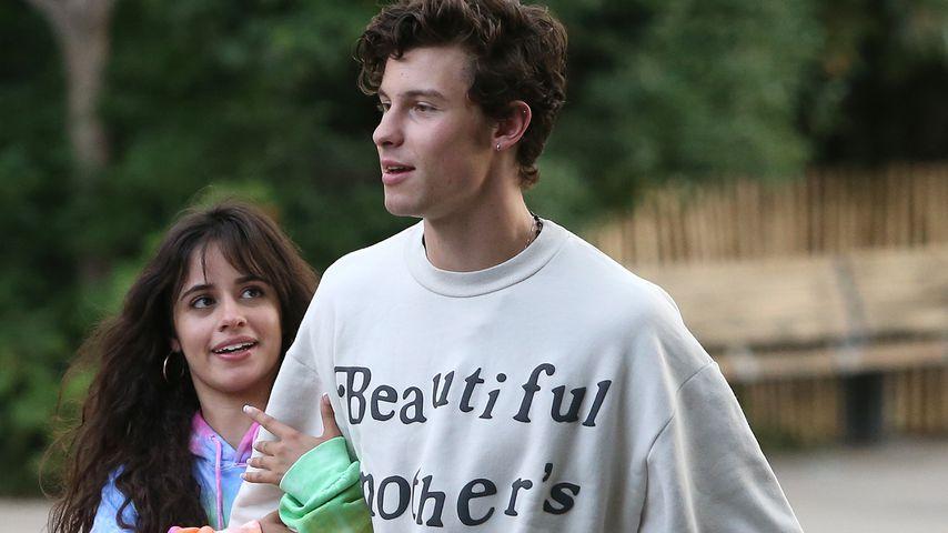 Camila Cabello und Shawn Mendes im August 2019