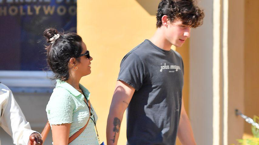 Camila Cabello und Shawn Mendes im Juni 2021