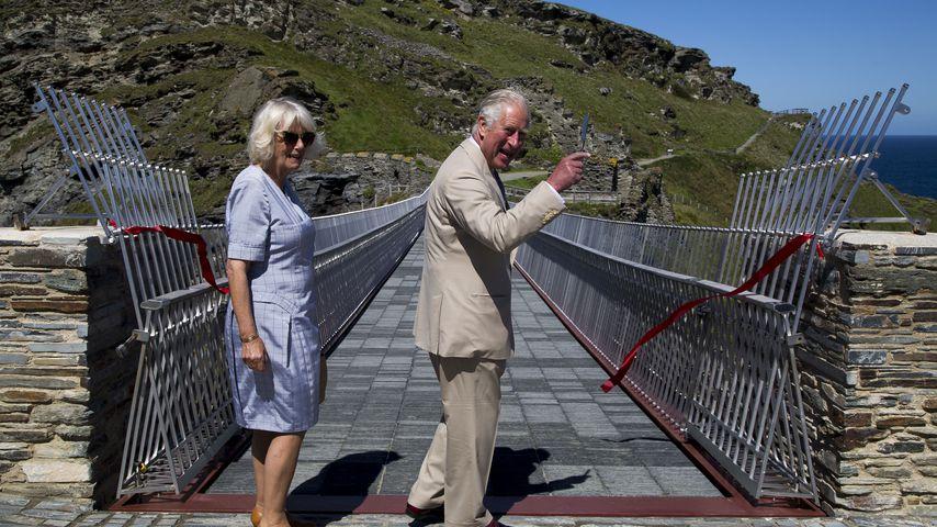 Herzogin Camilla und Prinz Charles, 2020 in Cornwall