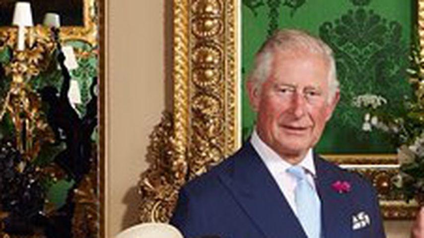 Camilla und Prinz Charles im Juli 2019 bei Archies Taufe