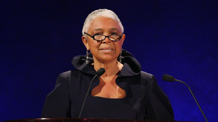 Camille Cosby beim 35. Jubiläum der Jackie Robinson Foundation in New York, März 2008