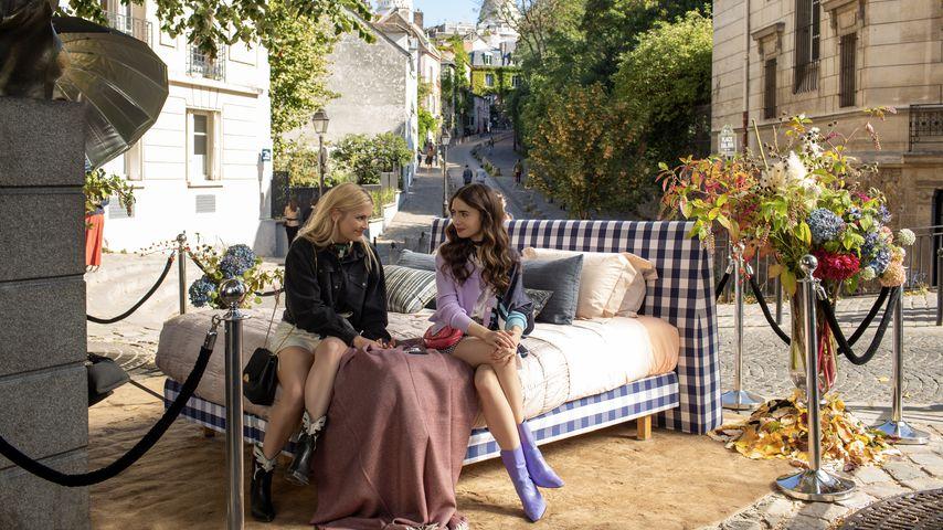 """Camille und Emily in der Netflix-Serie """"Emily in Paris"""""""