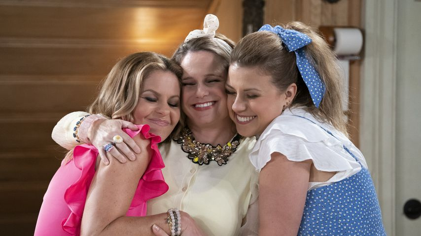 """Candace Cameron Bure, Andrea Barber und Jodie Sweetin in """"Fuller House"""""""