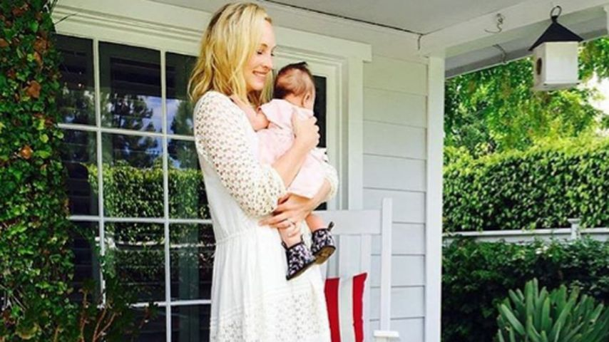 Überglücklich! So feierte Candice Accola ihren 1. Muttertag