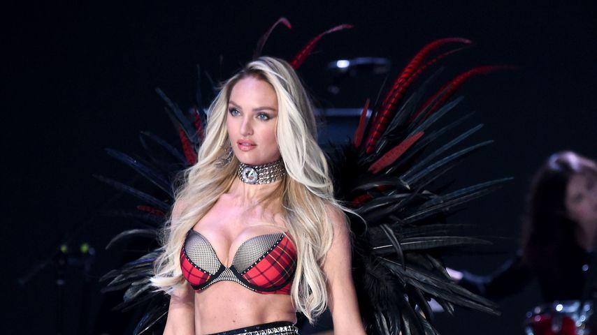 Candice Swanepoel bei der Victoria's Secret Show 2017