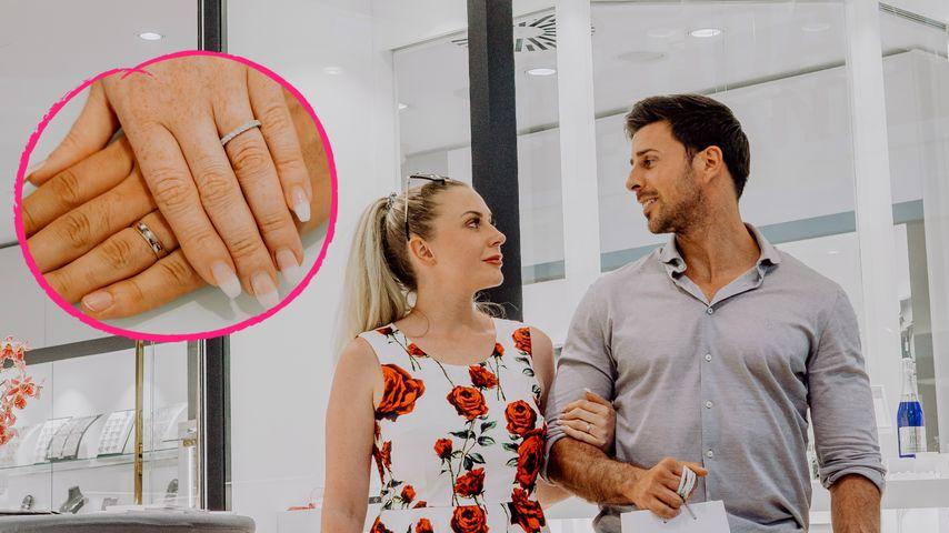 Kurz vor der Hochzeit: Das sind Leonard & Caonas Eheringe!