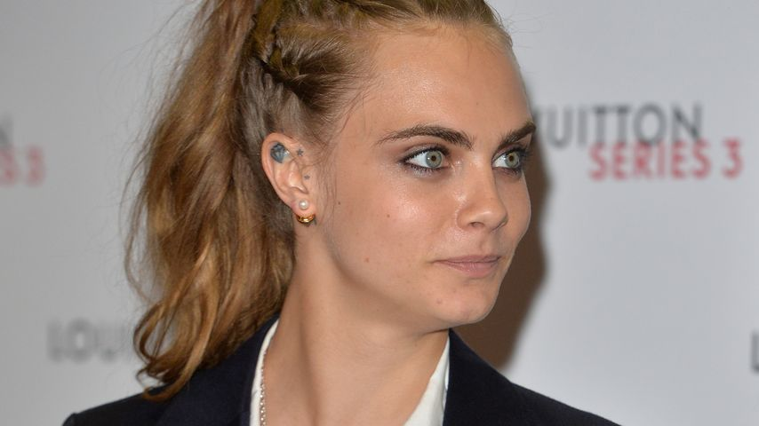 "Cara Delevingne bei einem ""Louis Vuitton""-VIP-Launch in London"