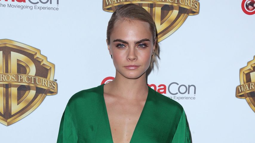 Cara Delevingne auf der CinemaCon in Las Vegas