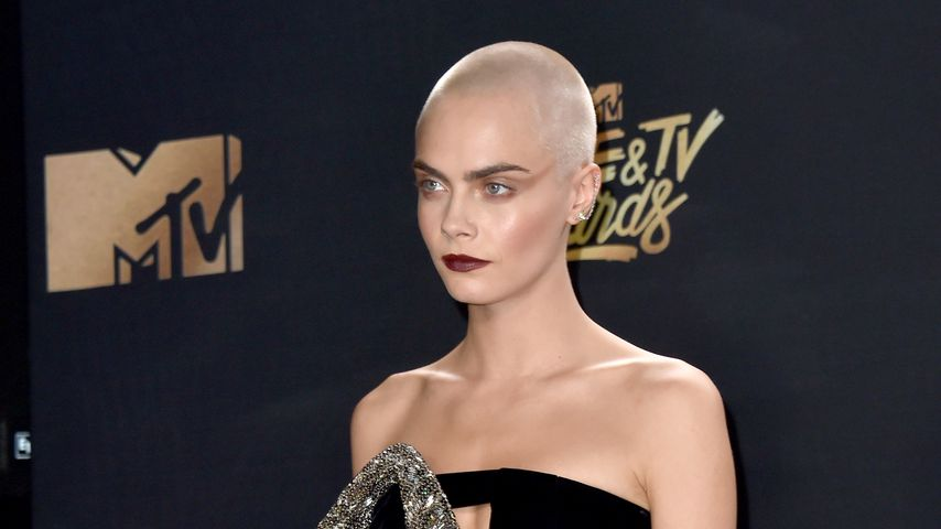Cara Delevingne bei den MTV Movie Awards 2017