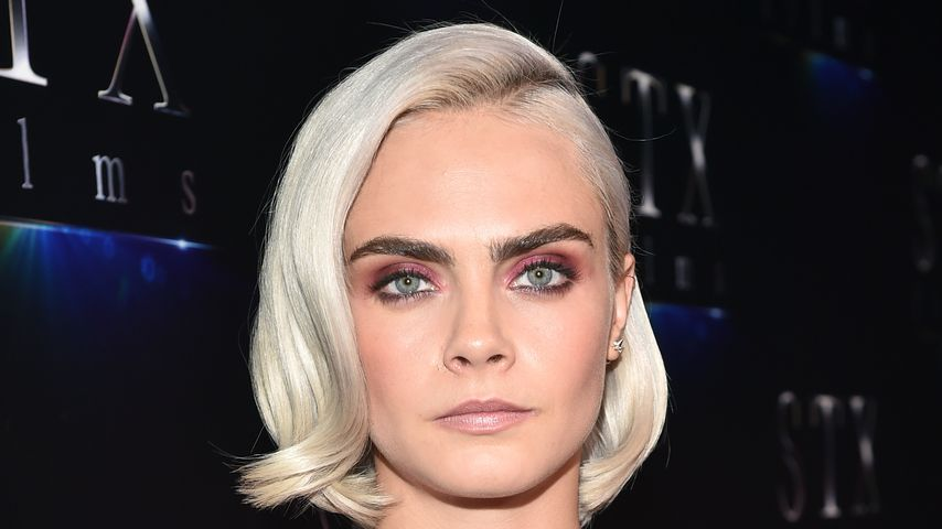 Krass! Cara Delevingne rasiert sich Glatze für neue Rolle!