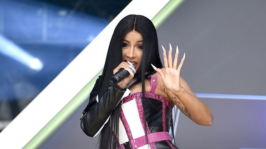 Cardi B bei einem Auftritt im Januar 2020