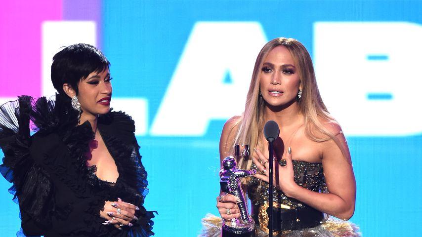 """Bei """"Hustlers"""": Cardi B war vor Tanz-Szene mit J.Lo nervös!"""