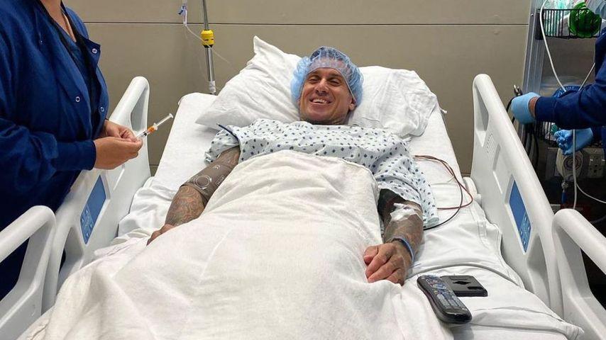 Carey Hart nach seiner Operation