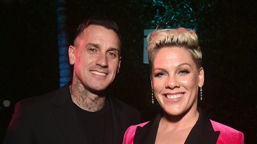 Carey Hart und seine Frau Pink, November 2019