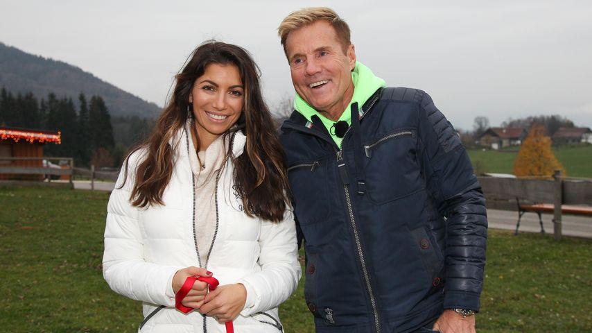 Carina Walz und Dieter Bohlen in Österreich