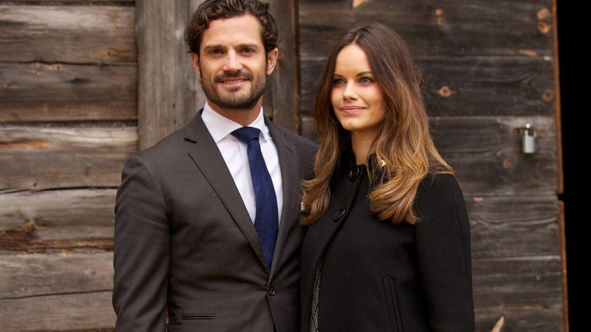 Geburt naht: Carl Philip & Sofia verschicken Einladungen